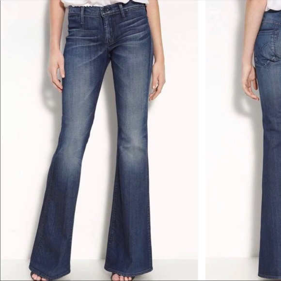 1aa6c87e745 Mother mid rise flare jeans. M 5b0f6bce5521becb6668482d